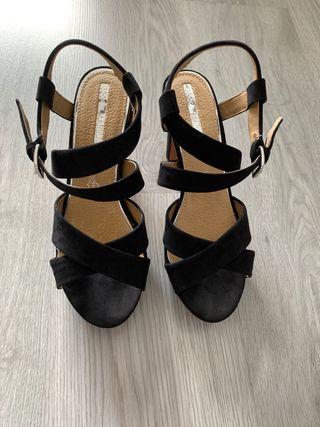 Sandalias Negras - Maria Mare.