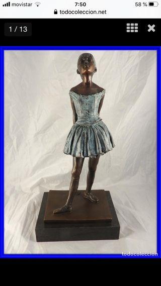 Escultura Bailarina de Degas