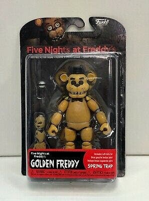Five Nights at Freddy's, Golden Freddy.