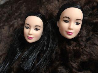 Vendo cabezas barbie Made to move
