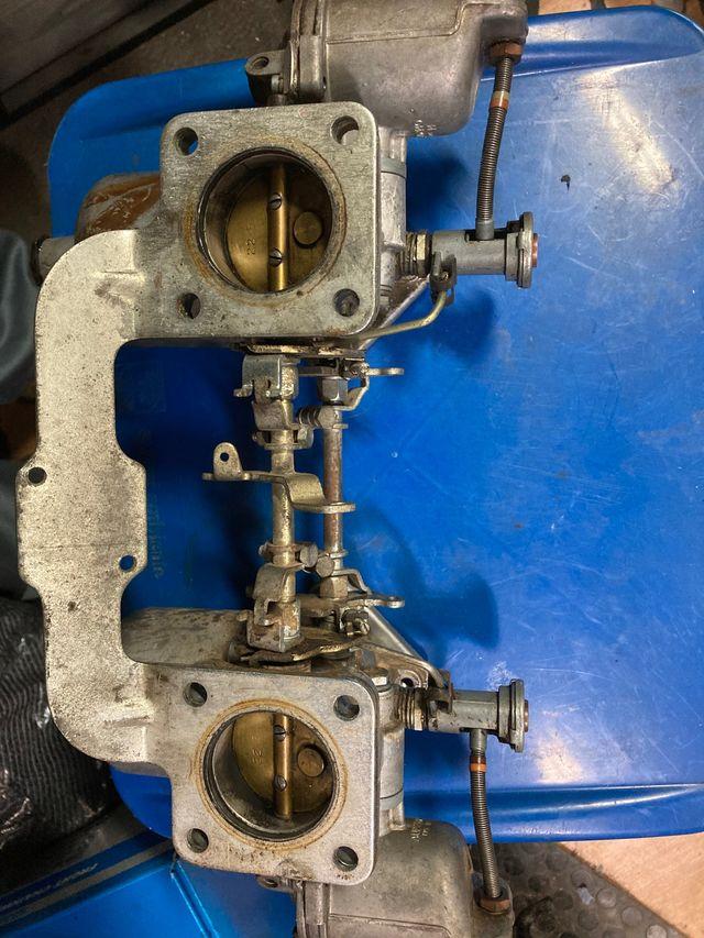 Carburadores HS6 dobles, triumph tr6 dolomite