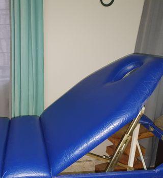 Camilla masaje con funda de transporte