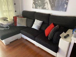 Sofa con Chaise-Longue