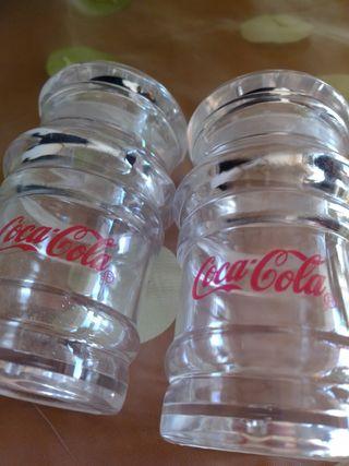 salero pimentero Coca Cola