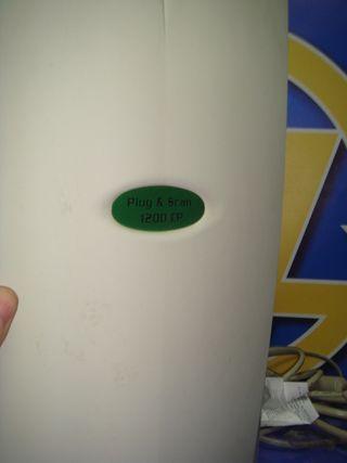 Escaner FLATBED model 1200 CP Buen Estado