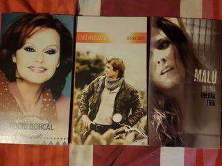 cd y DVD edición especial Malu,Rocío durcal.