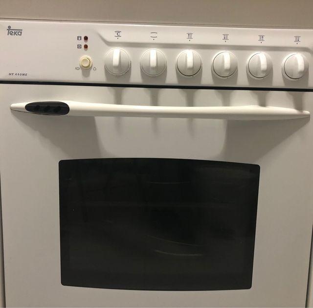 Encimera placa Gas y horno Teka
