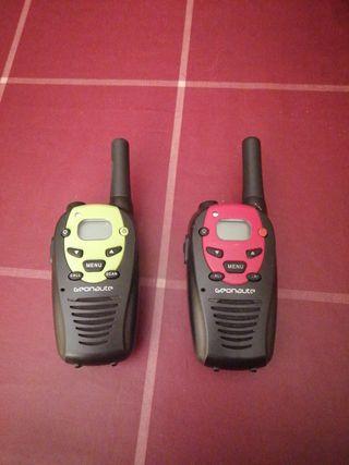 walkie-talkie geonaute