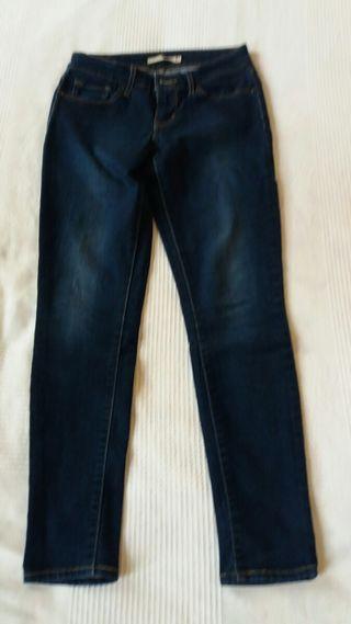 """Jeans/ vaqueros Levi's 711 Skinny talla 26"""""""