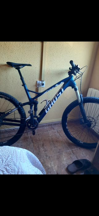 bici ghost carbono 27.5