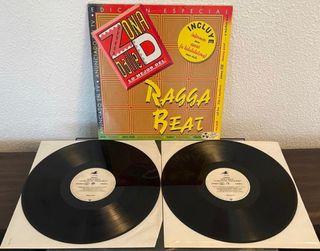 Disco vinilo zona d baile lo mejor del ragga beat