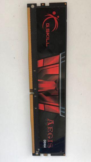G.SKILL AEGIS DDR4 2400 8 GB CL15 MEMORIA RAM