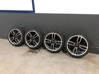 Llantas Mini 4x100 con neumáticos nuevos