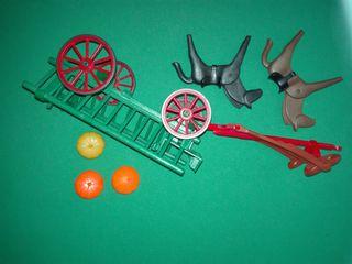 playmobil carreta carro granja rancho belen oeste