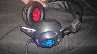 Auriculares Gaming con micrófono PC/PS4/XBOX