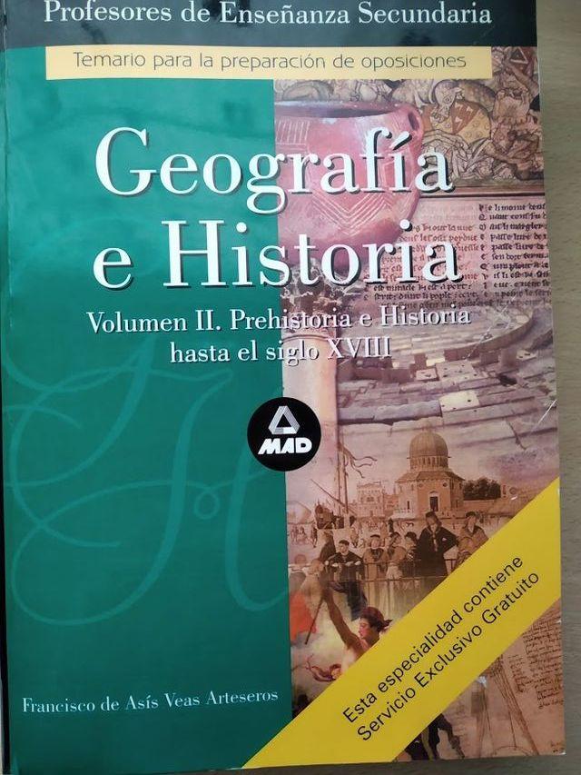 Temarios para Secundaria de Geografía e Historia