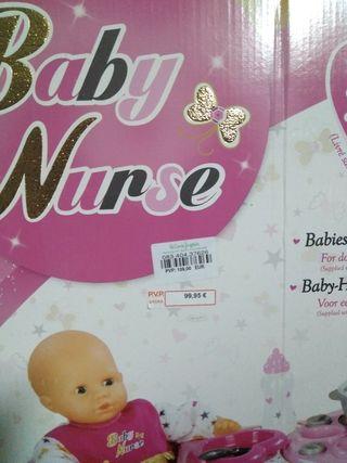 Baby nurse Smoby cuidado bebé