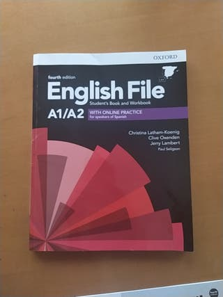 A1/A2 English File Oxford Fourth Edition