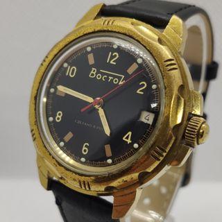 Reloj Ruso Militar Vostok 18 Rubies Con Calendario
