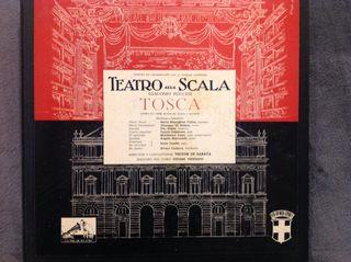 Vinilo Opera TOSCA (Puccini)