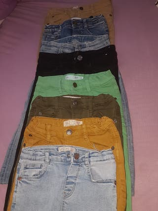 lote ropa niño zara talla 18-24