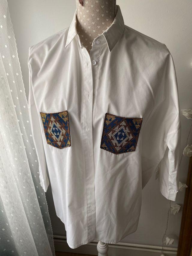 Conjunto camisa más chaqueta oversize