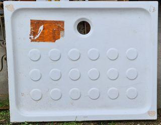 Plato cerámica de ducha 100x 80 Cm