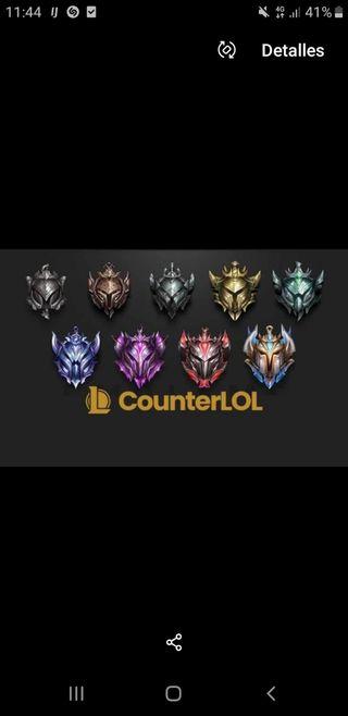 Coaching/boost de League Of Legends