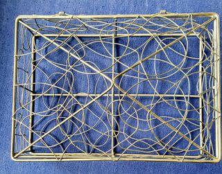 Caja rejilla metálica 24cmx18cm