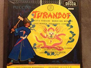 Vinilo Opera TURANDOT (Puccini)