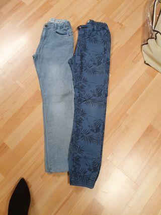 Lote de 2 pantalones de niño.