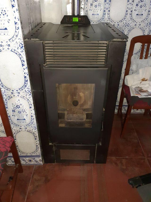 estufa de pellet canalizable