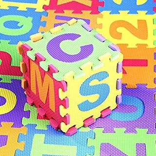 Alfombra desmontable niña/o, mascota Puzzle