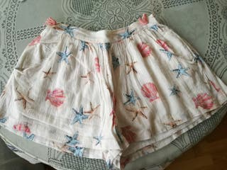 Falda pantalón veraniega