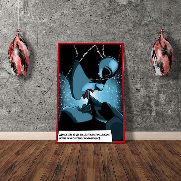 Cuadro Catwoman Dreams