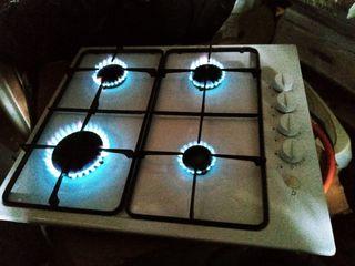 placa de gas para encastrar cocina