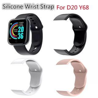 correas de,silicona para smartwatch D20 y D18