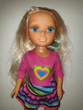 Muñeca Nancy mechas
