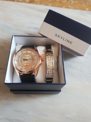 Reloj Y pulcera Skyline