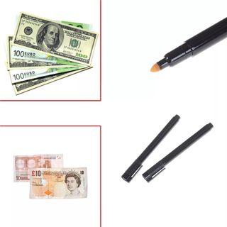 rotulador detector de billetes falsos