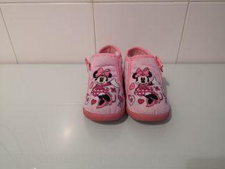 Zapatillas Minnie