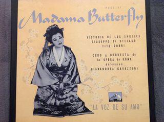 Vinilo Opera MADAMA BUTTERFLY (Puccini)