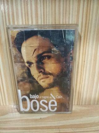 Cassette Miguel Bosé Bajo el signo de Caín