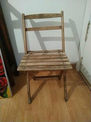 Antigua silla
