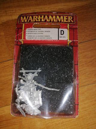 Señor de la guerra skaven Warhammer