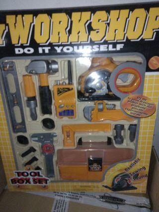 herramientas caladora amarilla