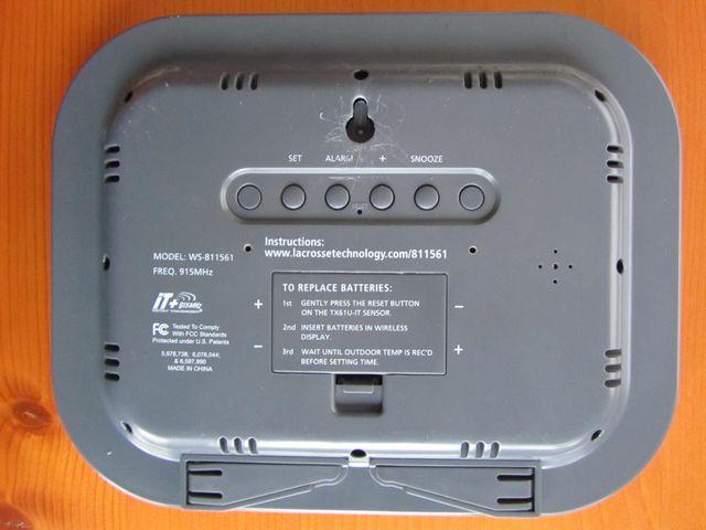 Reloj La Crosse Technology WS-811561 termometro