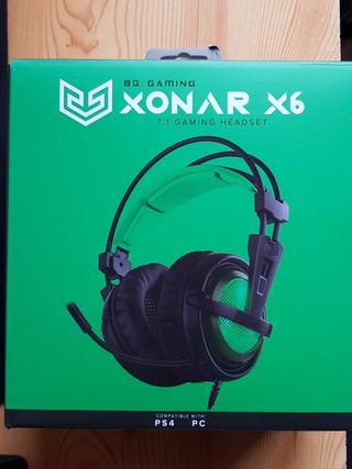 auriculares gaming XONAR X6
