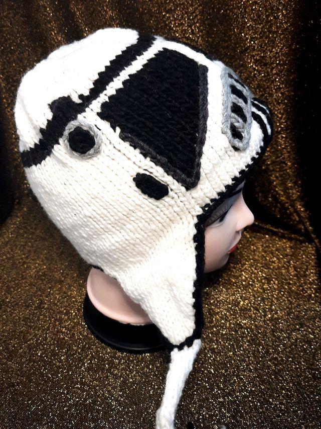 kids hat handmade of characters