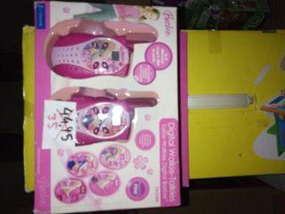 walkie talkie juguete barbie